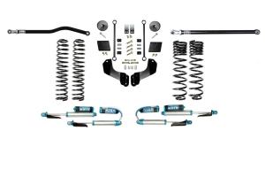 Evo Manufacturing 2.5in Enforcer Overland Stage 1 Lift Kit w/ Comp Adjuster Shocks - JT Diesel