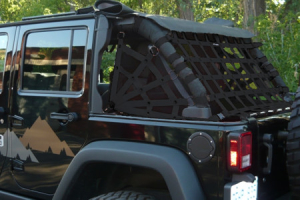 Dirty Dog 4x4 Rear Netting Black (Part Number: )