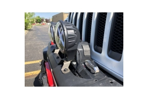 Maximus-3 Dually Auxiliary Light Bracket (Part Number: )