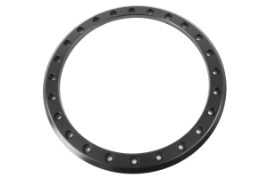 Method Race Wheels MR105 Beadlock Wheel Silver w/ Matte Black Ring 17x9 5x5 (Part Number: )