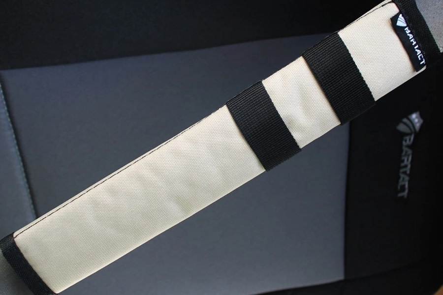 Bartact Universal Seat Belt Covers, Pair - Khaki