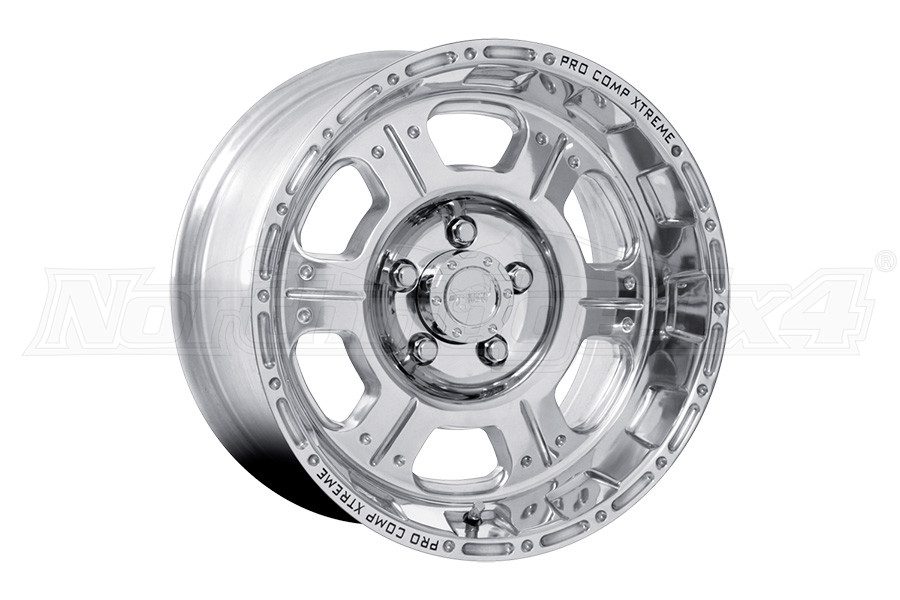 Pro Comp Xtreme Alloys Series 1089 Polished 17x9 5x5 (Part Number:1089-7973)