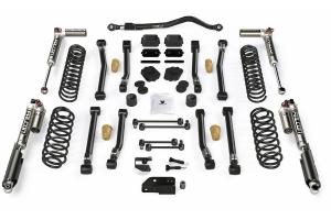 Teraflex 3.5in Alpine CT3 Short Arm Lift Kit - w/Falcon 3.3 Adjustable Shocks - JL 4dr