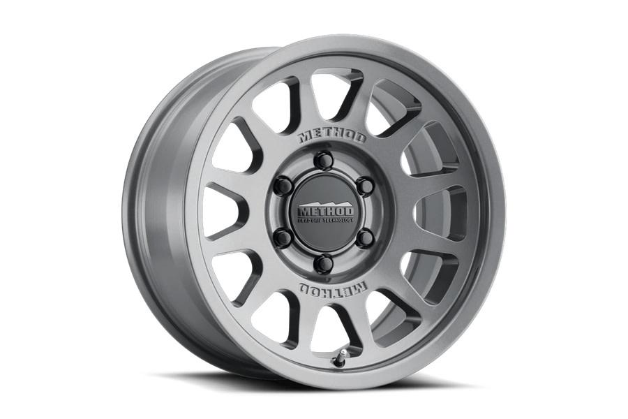 Method Race Wheels 703 Series Wheel, 17x8.5 6x5.5 - Gloss Titanium - Ford Bronco
