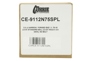 Currie Enterprises Johnny Joint Narrow Forged 2in (Part Number: )