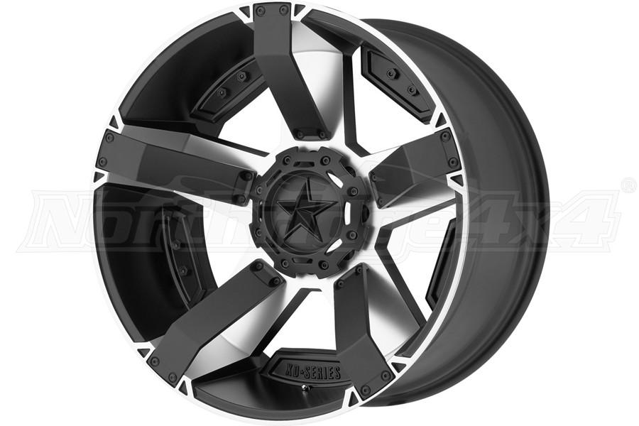 XD Series XD811 Rockstar II Wheel, Matte Black w/ Accents 18x9 5x5/5x5.5 - JT/JL/JK