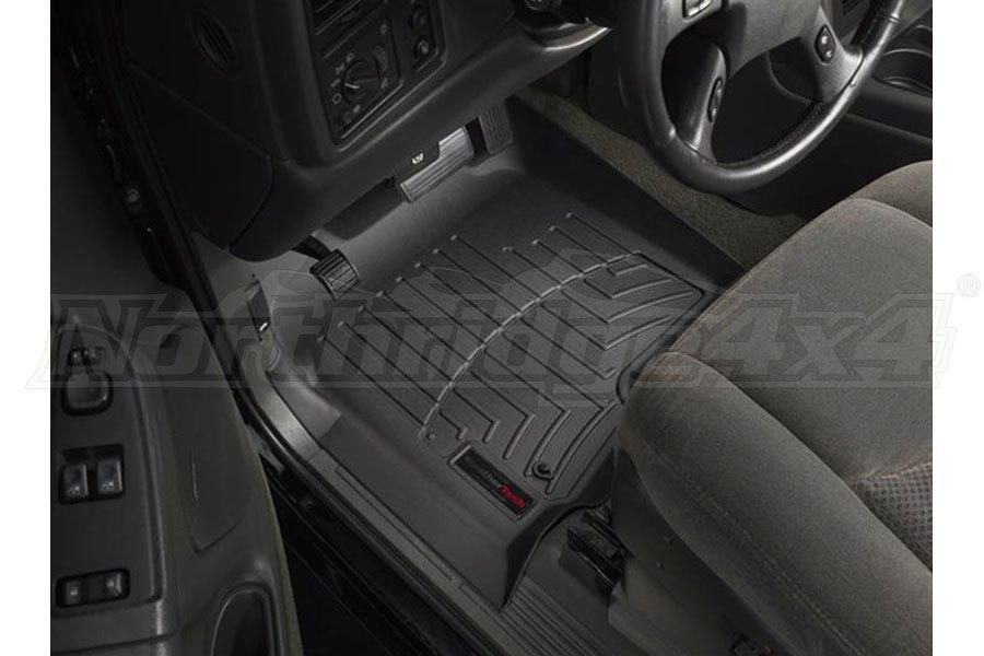 WeatherTech Front Floorliners Black (Part Number:440031)