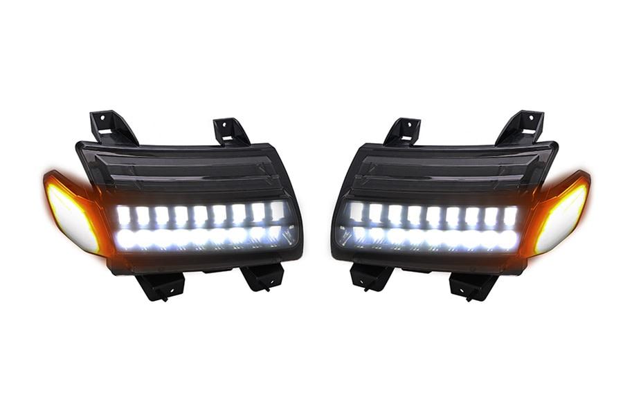 Quake LED Dual Trax Fender DRL Lights - JT/JL
