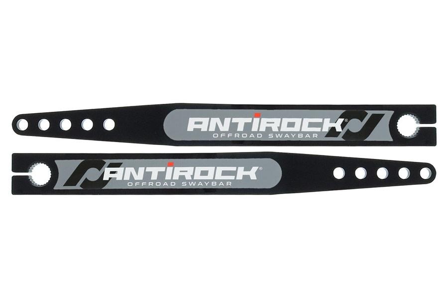 RockJock Antirock Fabricated Steel Sway Bar Arms, 17in - Pair