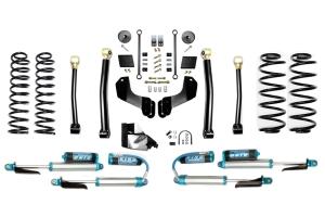 Evo Manufacturing 4.5in Enforcer Overland Stage 3 Lift Kit w/ Comp Adjuster Shocks - JL 4Dr