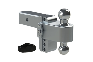 Weigh Safe 180degree Turnover Ball 4in Drop Hitch w/ 2.5in Shaft