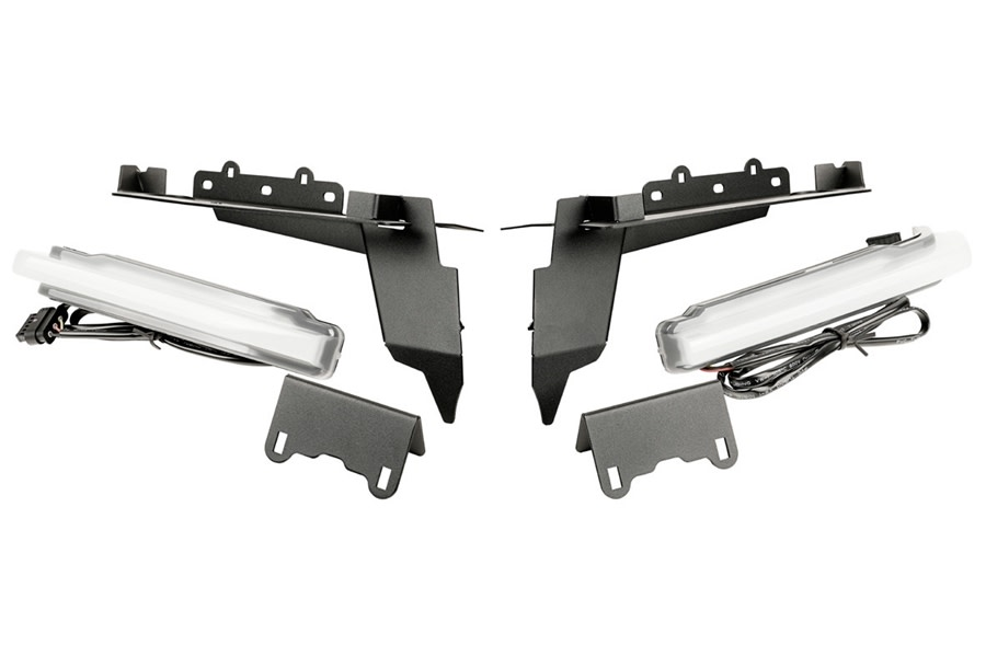 Rugged Ridge Front DRL Chop Brackets  - JL Rubicon Only