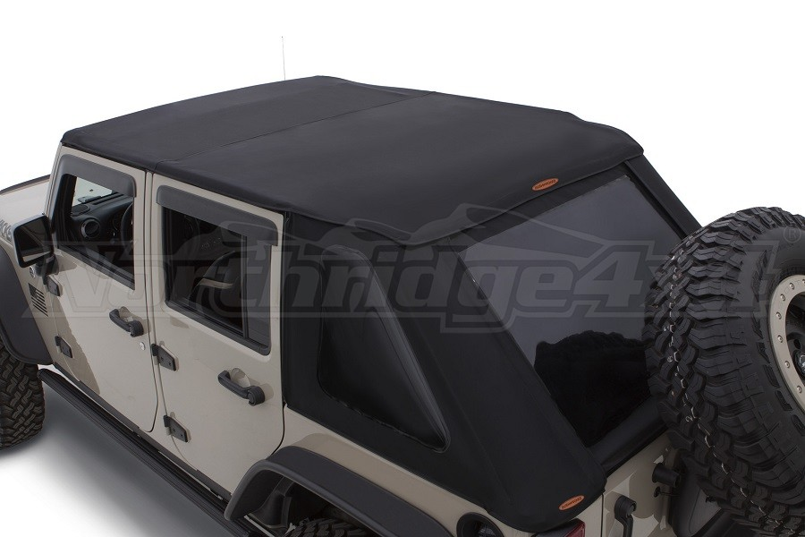 Bushwacker Trail Armor Soft Top,Twill Fast Back  - JK 4Dr