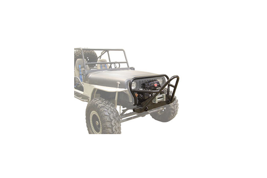 LOD Competition Series Front Bumper Black Powder Coated (Part Number:JFB8701)