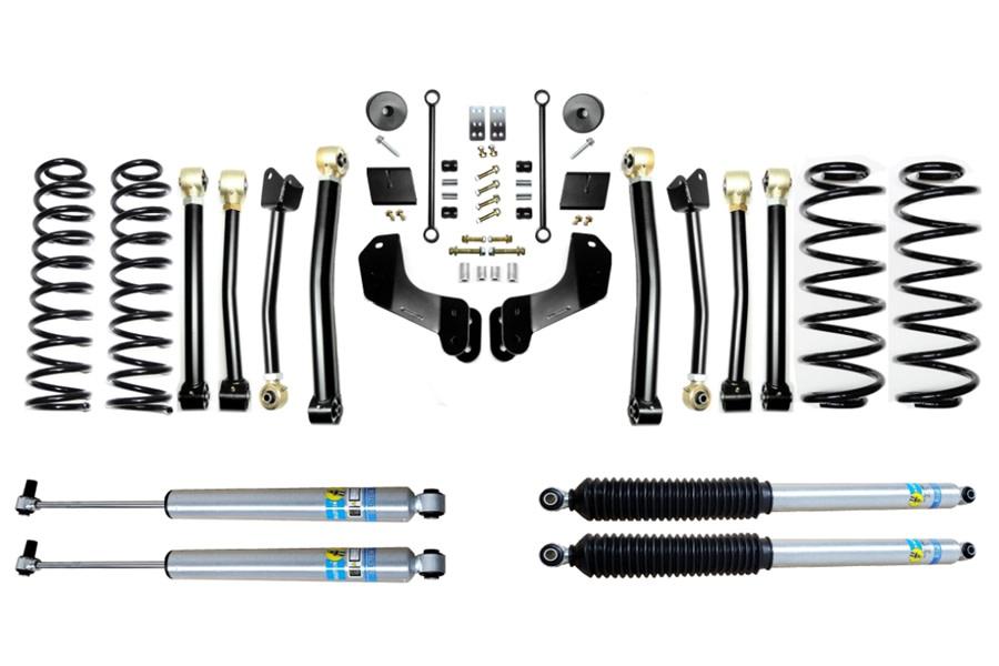 Evo Manufacturing 2.5in Enforcer Overland Stage 4 Lift Kit w/ Bilstein Shocks - JL