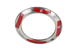 Kentrol 4-Piece Air Vent Bezels - Polished Silver  - JK 2007-10