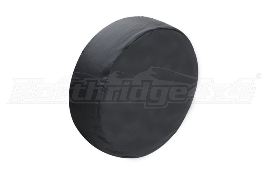 Smittybilt Spare Tire Cover Small Tire 27in - 29in Black Vinyl (Part Number:772901)