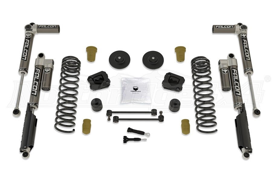 Teraflex 2.5in Sport ST2 Suspension Lift Kit w/ Falcon 3.1 Shocks - JT