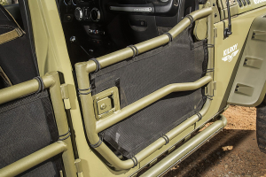 Rugged Ridge Front Tube Door Covers (Part Number: )