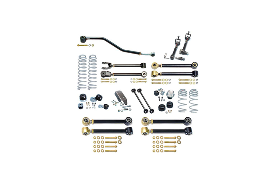 Currie Enterprises Johnny Joint 4in Suspension w/Sway Bar Disconnects - TJ