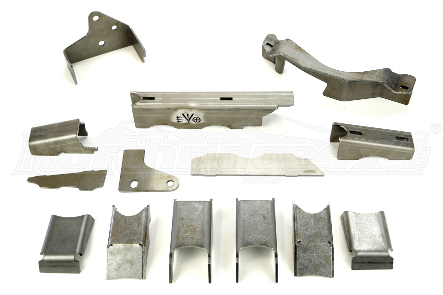 EVO Manufacturing ProTeck Dana 44 Axle Armor Kit Front (Part Number:220-44)
