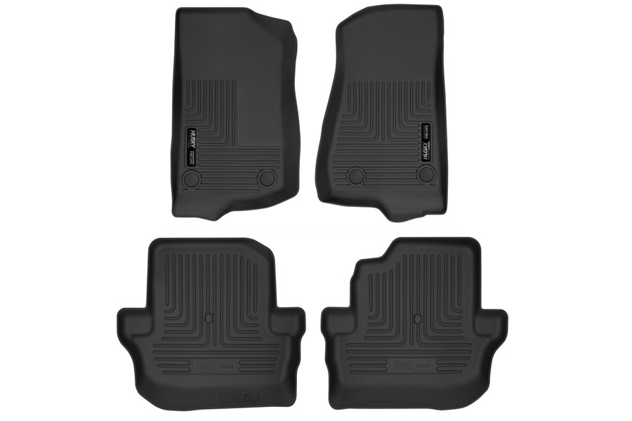 Husky Liners X-Act Front and Rear Contour Floor Liners - JL 2Dr