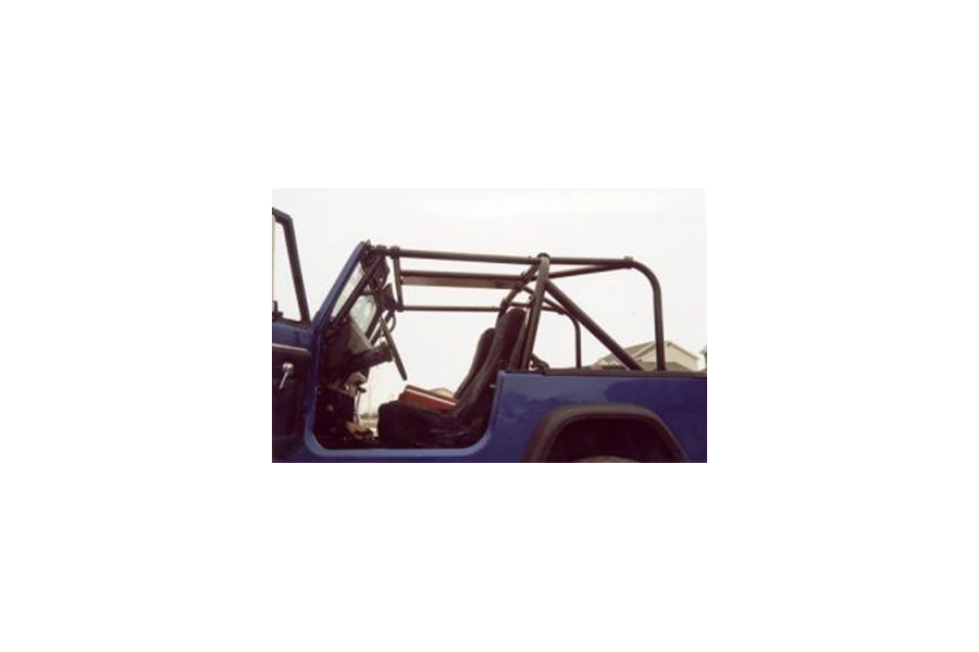 Rock Hard 4x4 Ultimate Sports Cage Rear Side Bar & Angle Bar Kit (Part Number:RH-1002-C)