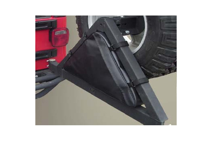 Rugged Ridge Triangular Storage Bag for Tire Carriers - TJ/YJ