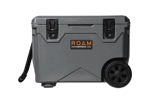 Roam Rolling Rugged Cooler, 50qt - Slate