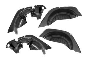 Rugged Ridge All-Terrain Flat Fender Liner Kit - JK