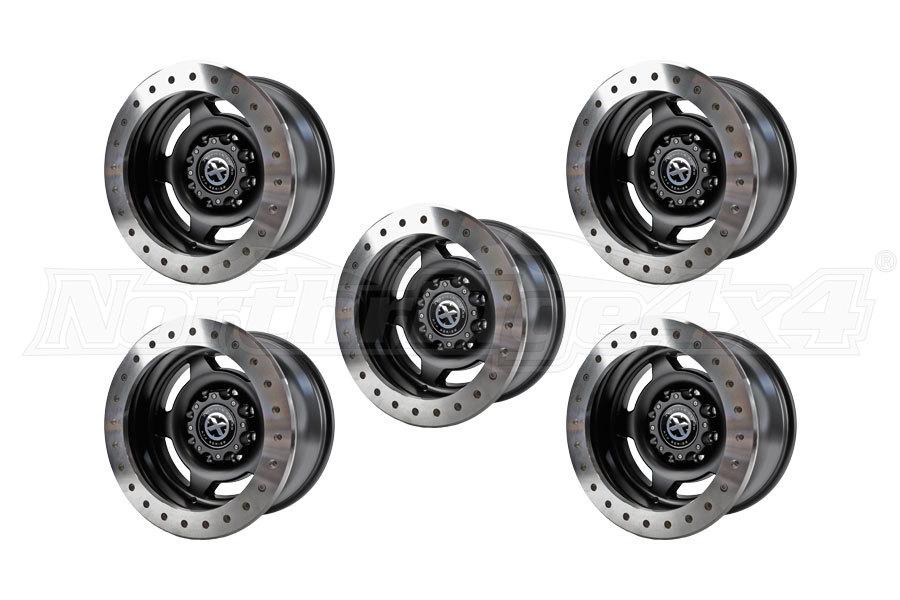 ATX Wheels Slab Beadlock 17x9 Wheel Package ( Part Number: AX75679050738NX5)