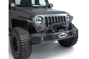 Rampage Trailguard Full Width Front Bumper, Black  - JT/JL