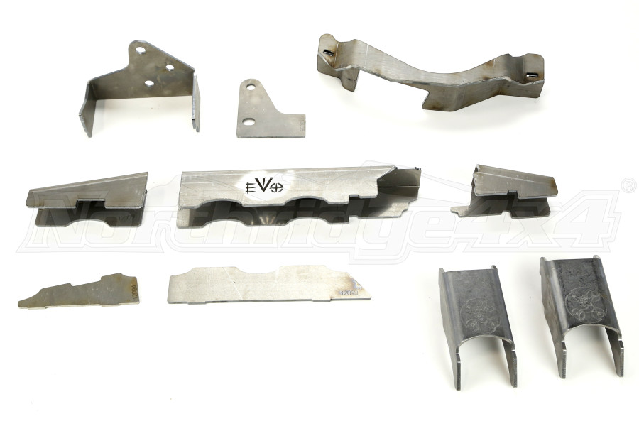 EVO Manufacturing ProTek Dana 44 Axle Truss w/C2 Gussets Front (Part Number:1143-44)