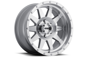 Method Race Wheel The Standard 301 Wheel Black w/Machined Lip 17x9 5x5 (Part Number: )