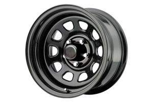 Pro Comp Rock Crawler Extreme Series 51 Wheel Gloss Black 15x10 5x4.5 (Part Number: )