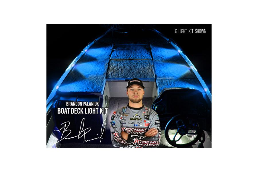 Rigid Industries Brandon Palaniuk A-Series Deck Light Kit Blue (Part Number:400863)