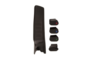 Rugged Ridge Passenger Side A-Pillar Pod Kit with USB Port (Part Number: )