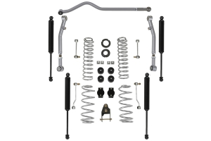 Rubicon Express 3.5/4.5in Standard Coil Lift Kit w/ Twin Tube Shocks - JL 4Dr