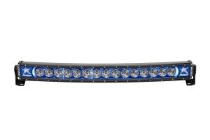 Rigid Industries RADIANCE+ Curved Light Bar Blue Backlight 30in