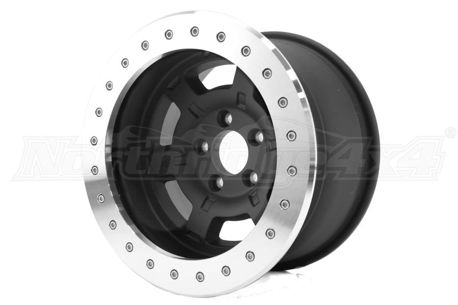 ATX Wheels AX757 Chamber Pro II Beadlock Black 17X9 5x5 (Part Number:AX75779050624NF)