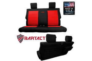 Bartact Rear Bench Seat Cover  (Part Number: JKSC0710R2B)