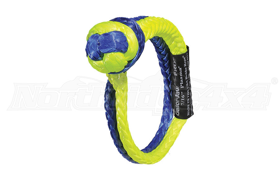 Bubba Rope GATOR-JAW Pro Syntheric Shackle 7/16in (Part Number:176745PRO)