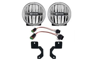 KC Hilities LED G4 Amber Fog Lights - JT/JL Rubicon Steel Bumper