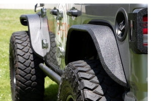 Fishbone Offroad Elite Rear Aluminum Tube Fenders  - JT