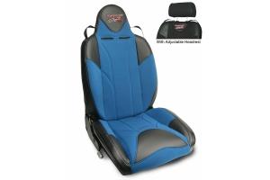 MasterCraft Baja RS DirtSport Reclining Seat w/Adj. Headrest Black/Blue/Blue
