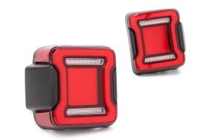 Outside Line Motoring LED Tail Lights - Red  - JL