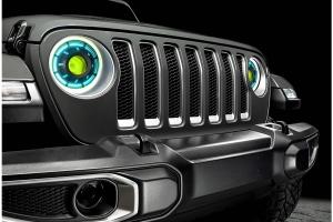 Oracle Oculus ColorSHIFT Bi-LED Projector Headlights - 2.0 Controller - JT/JL
