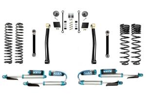 Evo Manufacturing 2.5in Enforcer Stage 3 Lift Kit w/ Comp Adjuster Shocks - JT