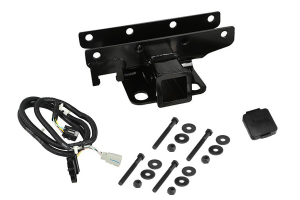 Rugged Ridge Receiver Hitch Kit w/ Jeep Plug  - JK