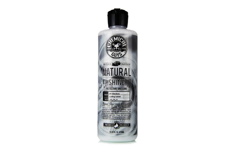 Chemical Guys Natural Shine Plastic, Rubber, Vinyl Dressing - 16oz